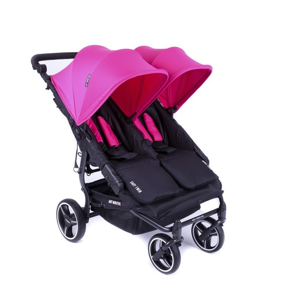 Chariot jumeaux Easy Twin 3s Light - Baby Monsters