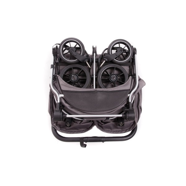 Chariot jumeaux + Capots Easy Twin 4 - Baby Monsters