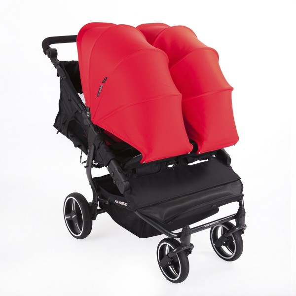 Chariot jumeaux + Capots Easy Twin 3S - Baby Monsters
