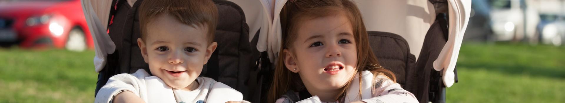 Kit de capotes pour poussette du bebé | Baby Monsters